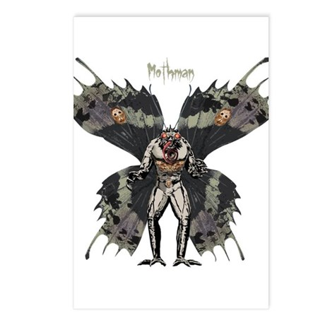 Mothman Postcards (Package of 8)
