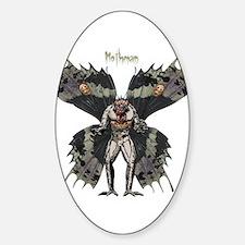Mothman Sticker (Oval)