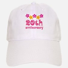20th Anniversary Tropical Gift Baseball Baseball Cap