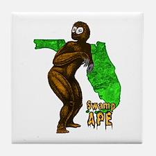 Swamp Ape Tile Coaster
