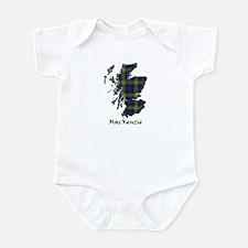 Map-MacKenzie htg grn Infant Bodysuit