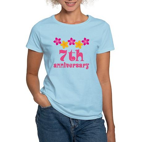 7th Anniversary Tropical Gift Women's Light T-Shir