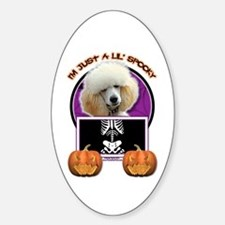 Just a Lil Spooky Poodle Decal