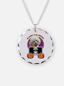 Just a Lil Spooky Poodle Necklace
