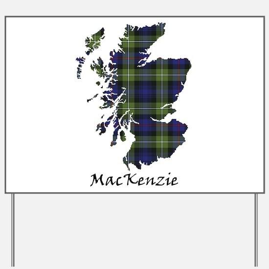 Map-MacKenzie htg grn Yard Sign