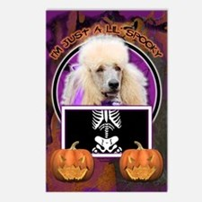 Just a Lil Spooky Poodle Postcards (Package of 8)