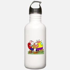 Cute Martial arts black belt Water Bottle