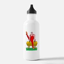 Cute Horse sports Water Bottle