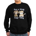 Save a Stray Sweatshirt (dark)
