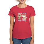 Save a Stray Women's Dark T-Shirt