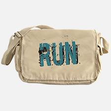 Grunge RUN Messenger Bag