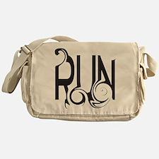 Unique RUN Messenger Bag
