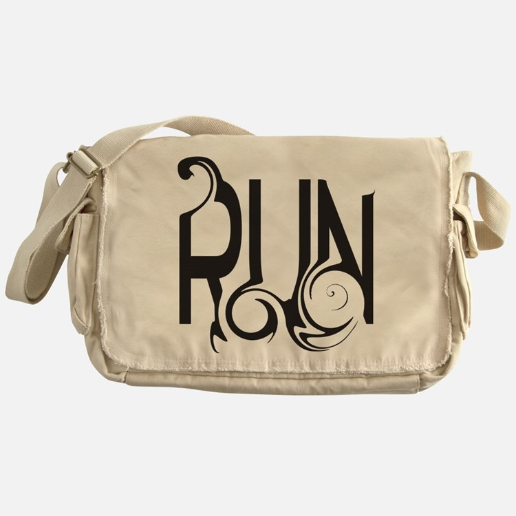 Unique RUN Messenger Bag