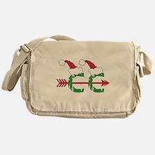 Cross Country Christmas Messenger Bag