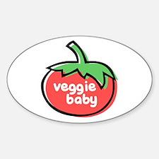 Veggie Baby Sticker (Oval)