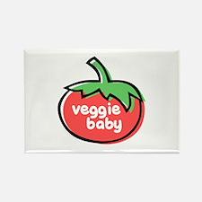 Veggie Baby Rectangle Magnet