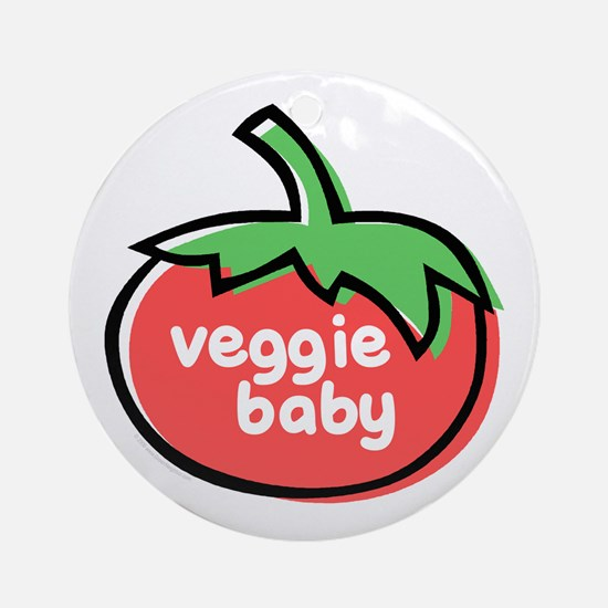 Veggie Baby Ornament (Round)