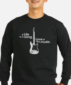 Guitar: Love is the Music T