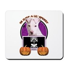 Just a Lil Spooky Pitbull Mousepad