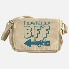 I'm with My BFF (LEFT) Messenger Bag