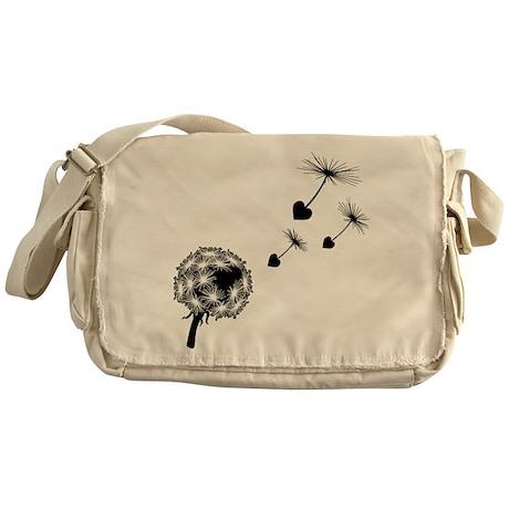Dandelion Love Messenger Bag