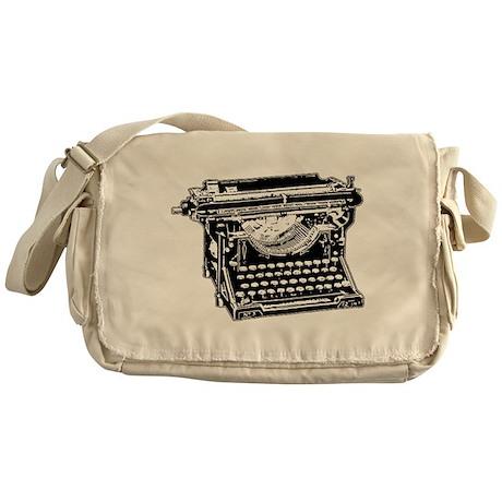 Old Fashioned Typewriter Messenger Bag