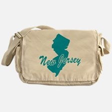 State New Jersey Messenger Bag