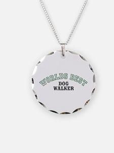 Worlds Best Dog Walker Necklace