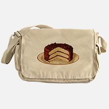 Retro Cake T-shirts Messenger Bag