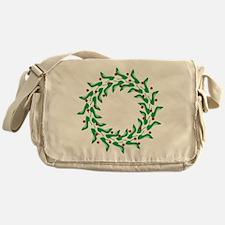 High Heel Shoe Wreath Messenger Bag
