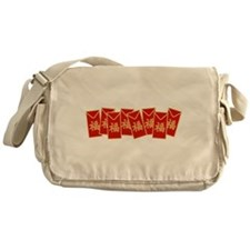 Red Envelopes Messenger Bag