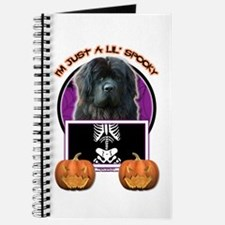 Just a Lil Spooky Newfie Journal