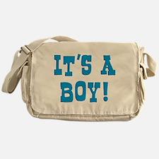 It's A Boy Messenger Bag