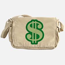 Dollar Sign Messenger Bag