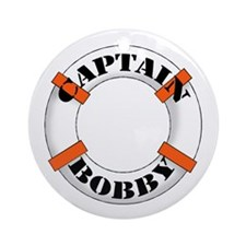 Captain Bobby Ornament (Round)