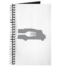 Food Truck: Side/Fork (Gray) Journal