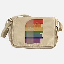 Mod Rainbow Love Messenger Bag
