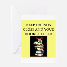 book lovers joke Greeting Card