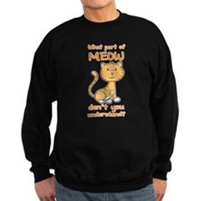 Part of Meow Sweatshirt