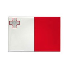 Malta Flag Rectangle Magnet (10 pack)
