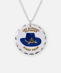 Army - 1st Cav - 1st Team Necklace