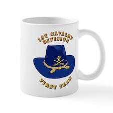 Army - 1st Cav - 1st Team Small Mug