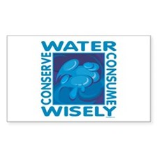 Water Conservation Decal