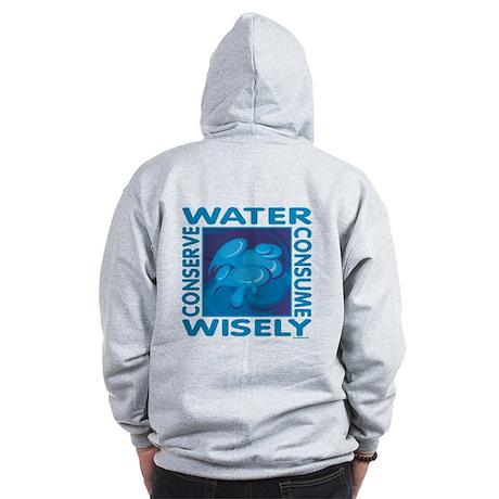 Water Conservation Zip Hoodie