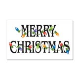 "Merry christmas 12"" x 20"""