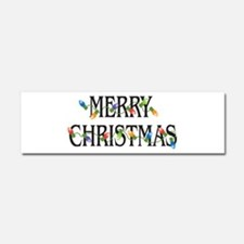 Merry Christmas Car Magnet 10 x 3