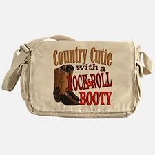 Funny Rock roll Messenger Bag