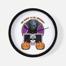 Just a Lil Spooky Labrador Wall Clock