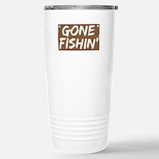 Gone Fishin' (Fishing) Travel Mug