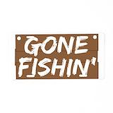 Gone boating License Plates